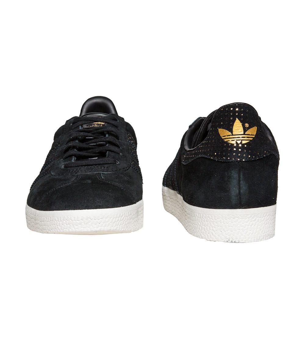 Women's Adidas Gazelle Shoes Sneakers BY9364 Size 7.5 Black