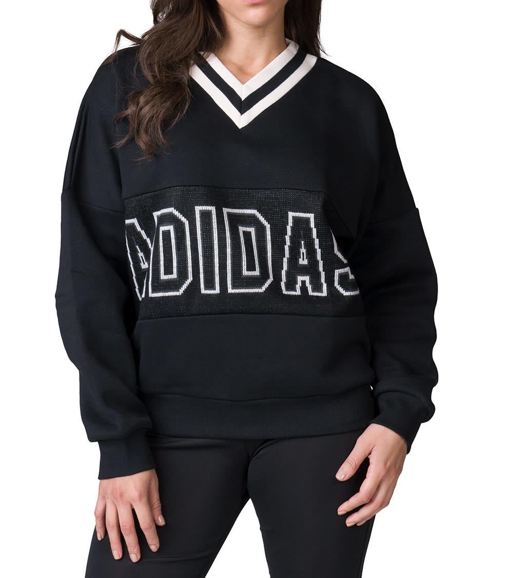 new list recognized brands presenting Adibreak Varsity Sweater