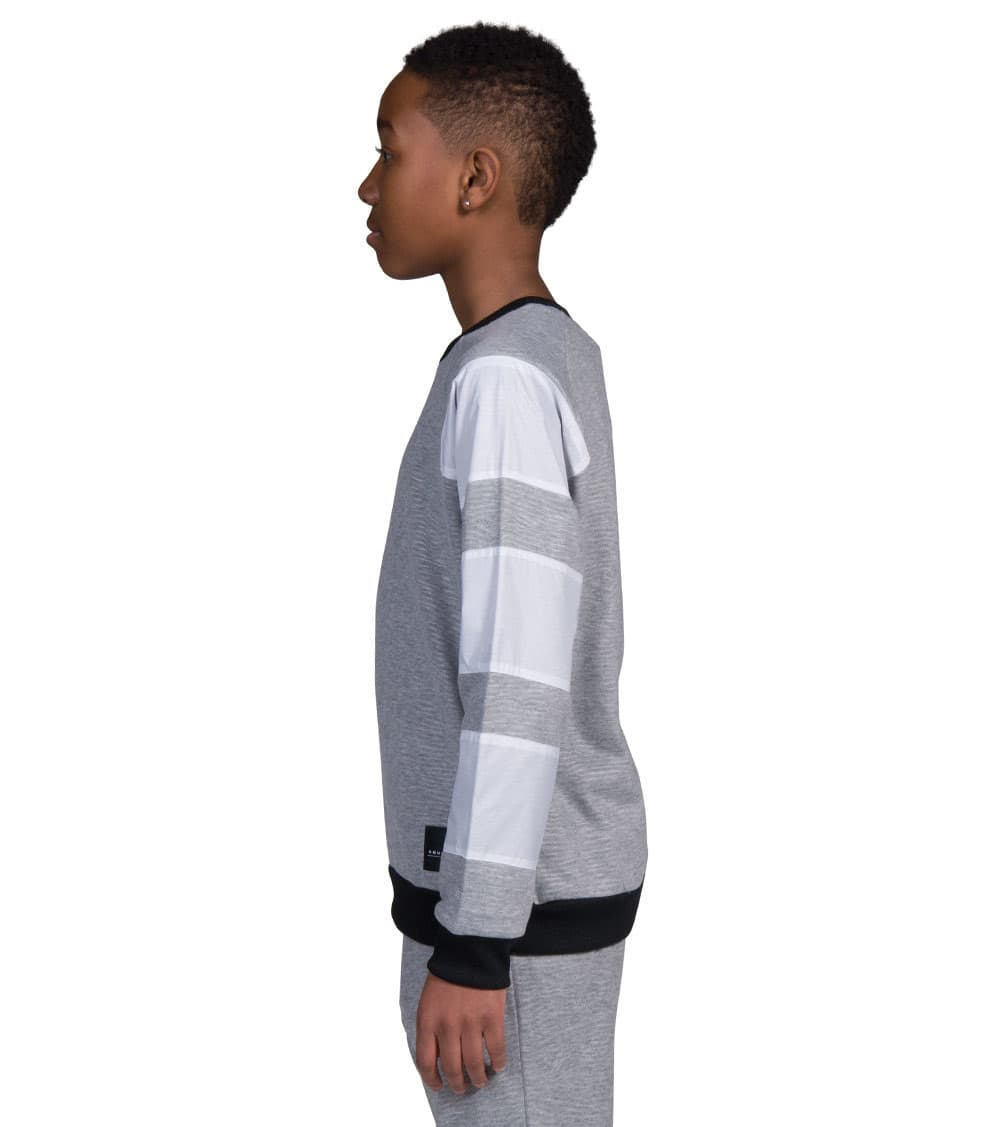 adidas Crew Neck Sweatshirt Juniors