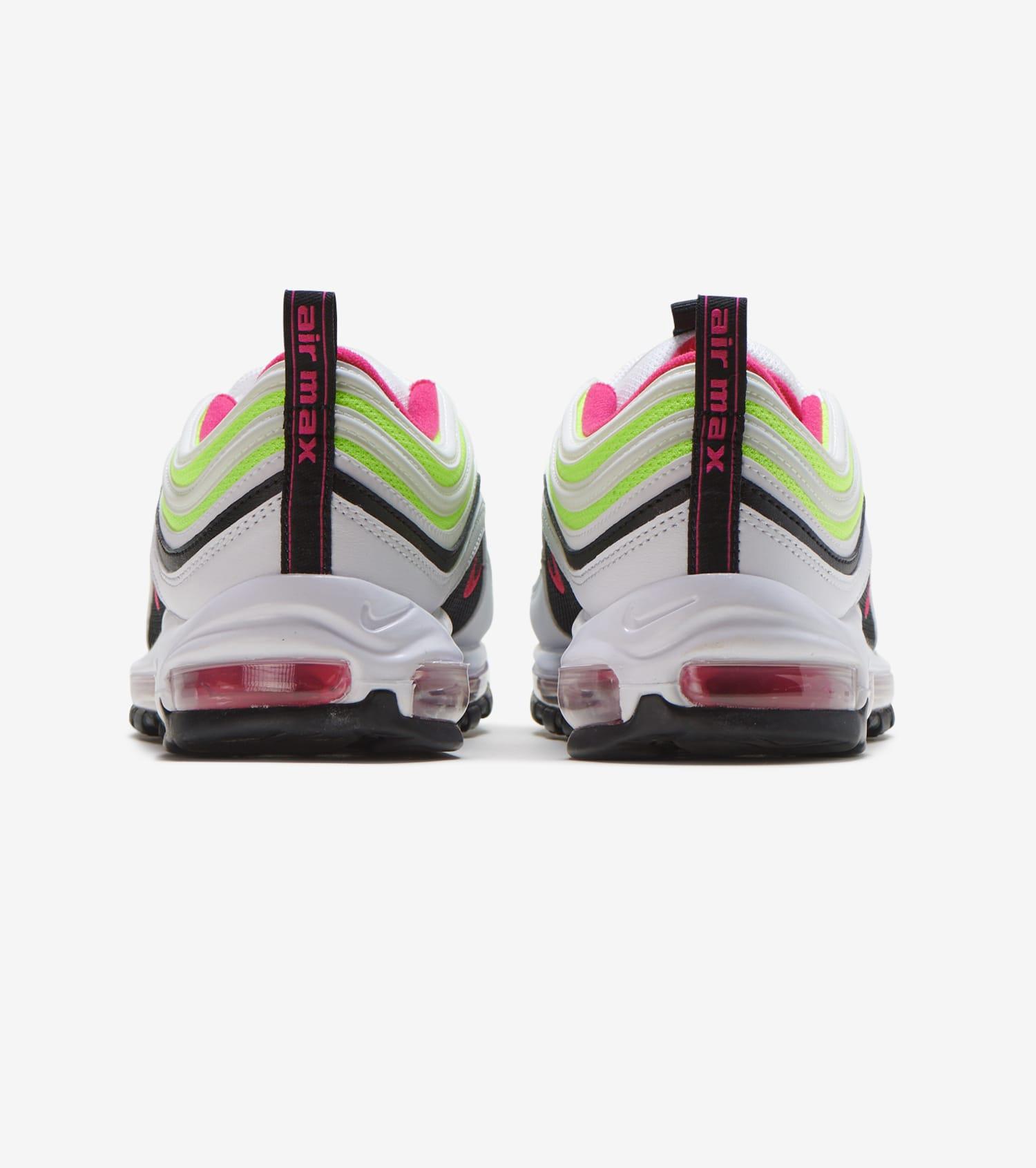 Nike Air Max 97 Volt Pink White Rush Black Volt CI9871 100 Men's Sz 11 NEW   eBay