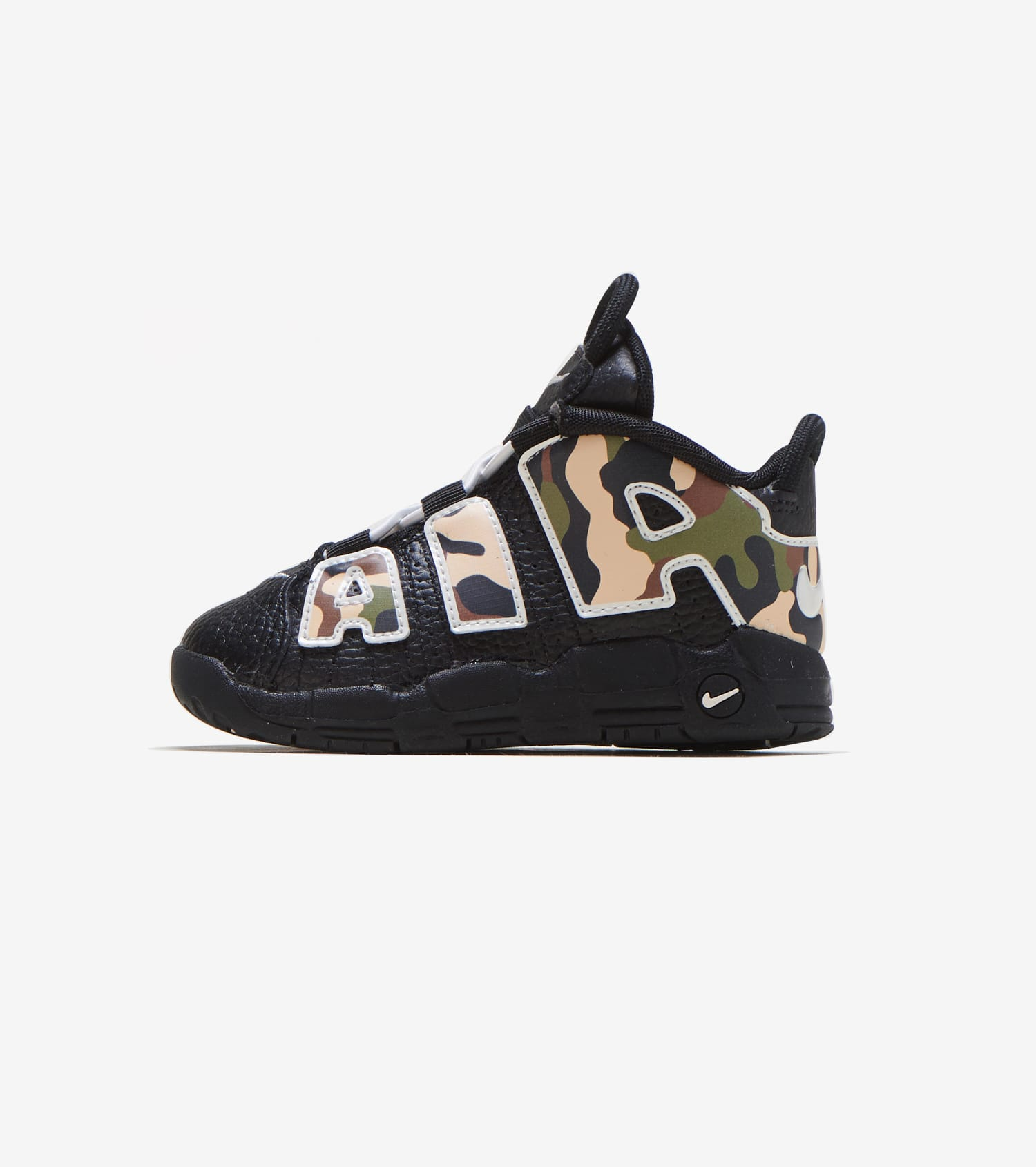 Air Nike More Uptempo black QS shoes strdBhQCx