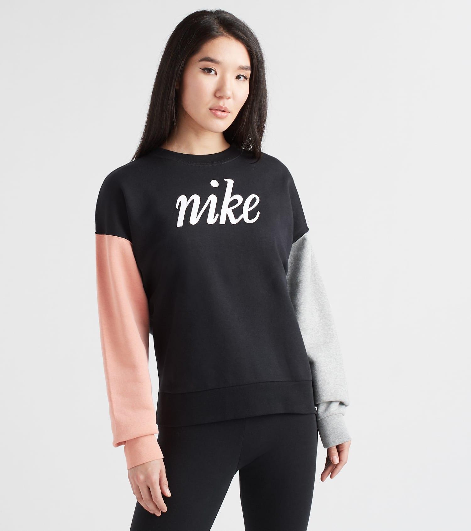 Women's Nike Colorblock Pullover in 2019 | Nike shirts women