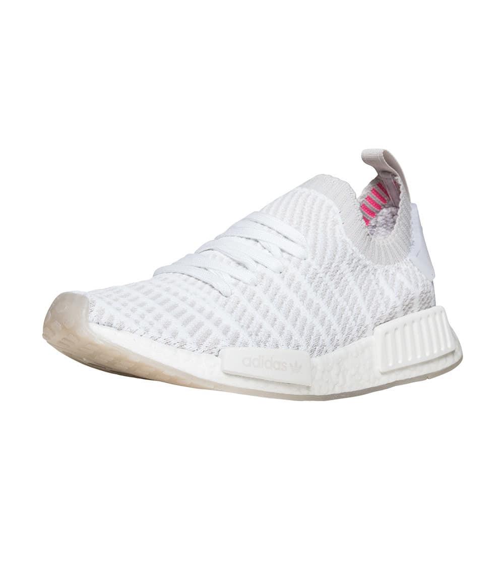 D96743 Adidas NMD CS2 Primeknit Men Shoes WhiteGreyBlack