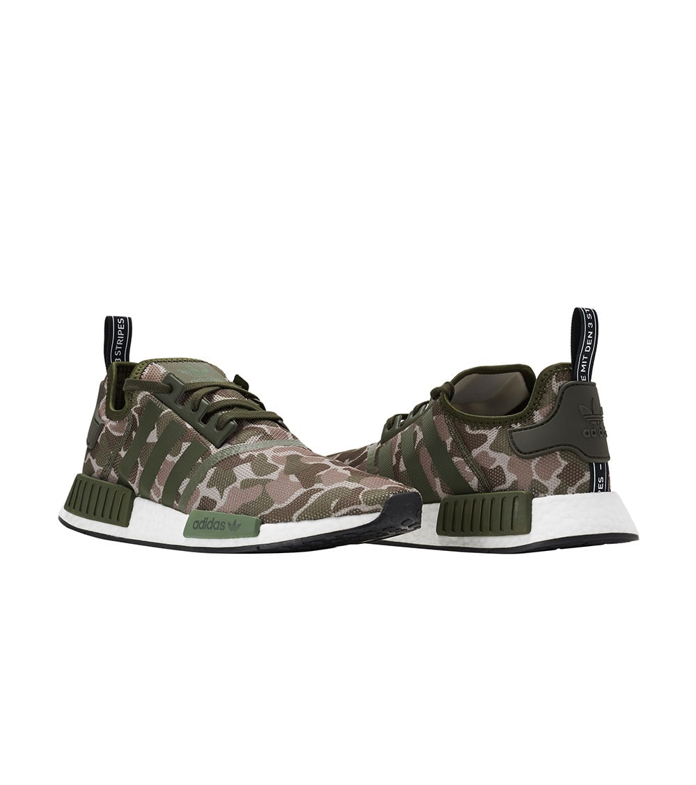 Details about Adidas Nmd R1 D96617 Green Camo Camouflage Men's Shoes