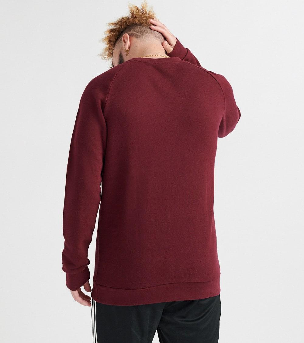 burgundy Jimmy Sweatshirt Trefoil Jazz 610 Dm7835 Adidas