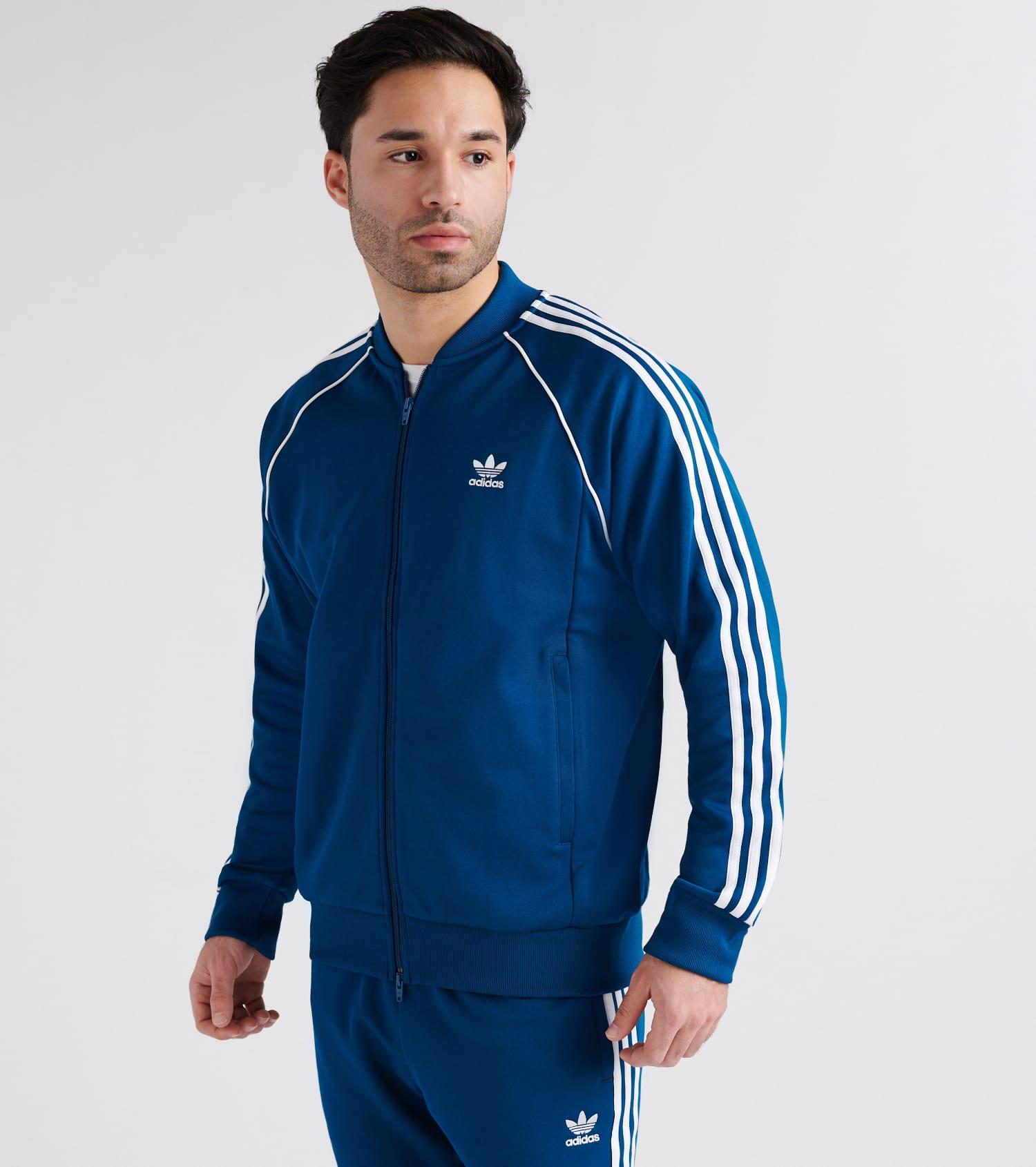 Adidas Superstar Blau Outfit bih