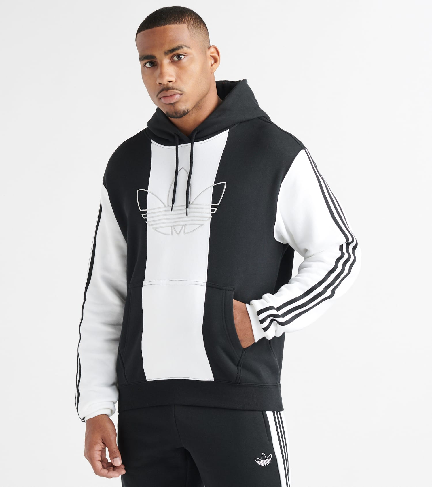adidas Originals Off Court Kapuzenpullover Weiss