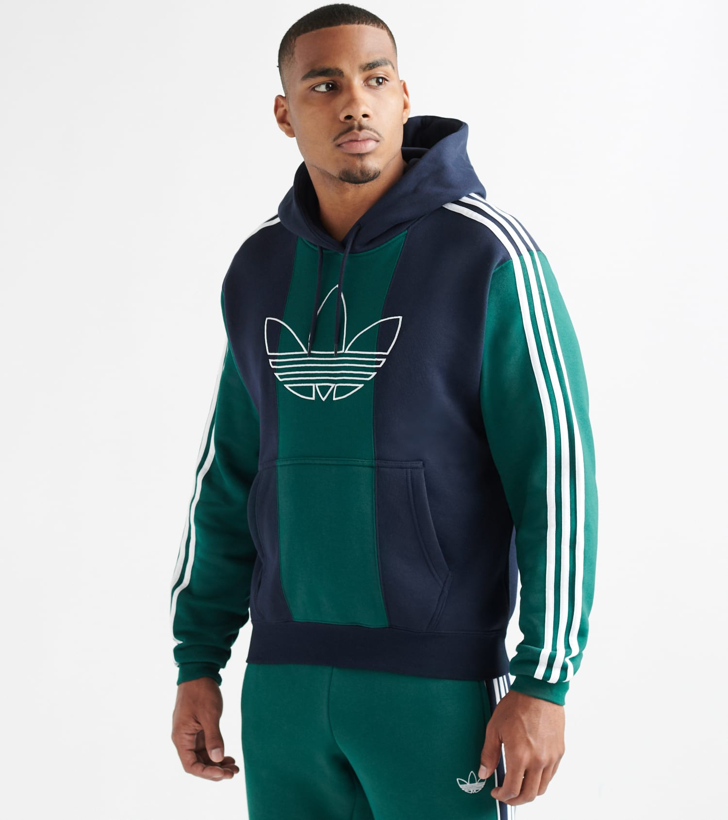 Off Court Trefoil Pullover Hoodie