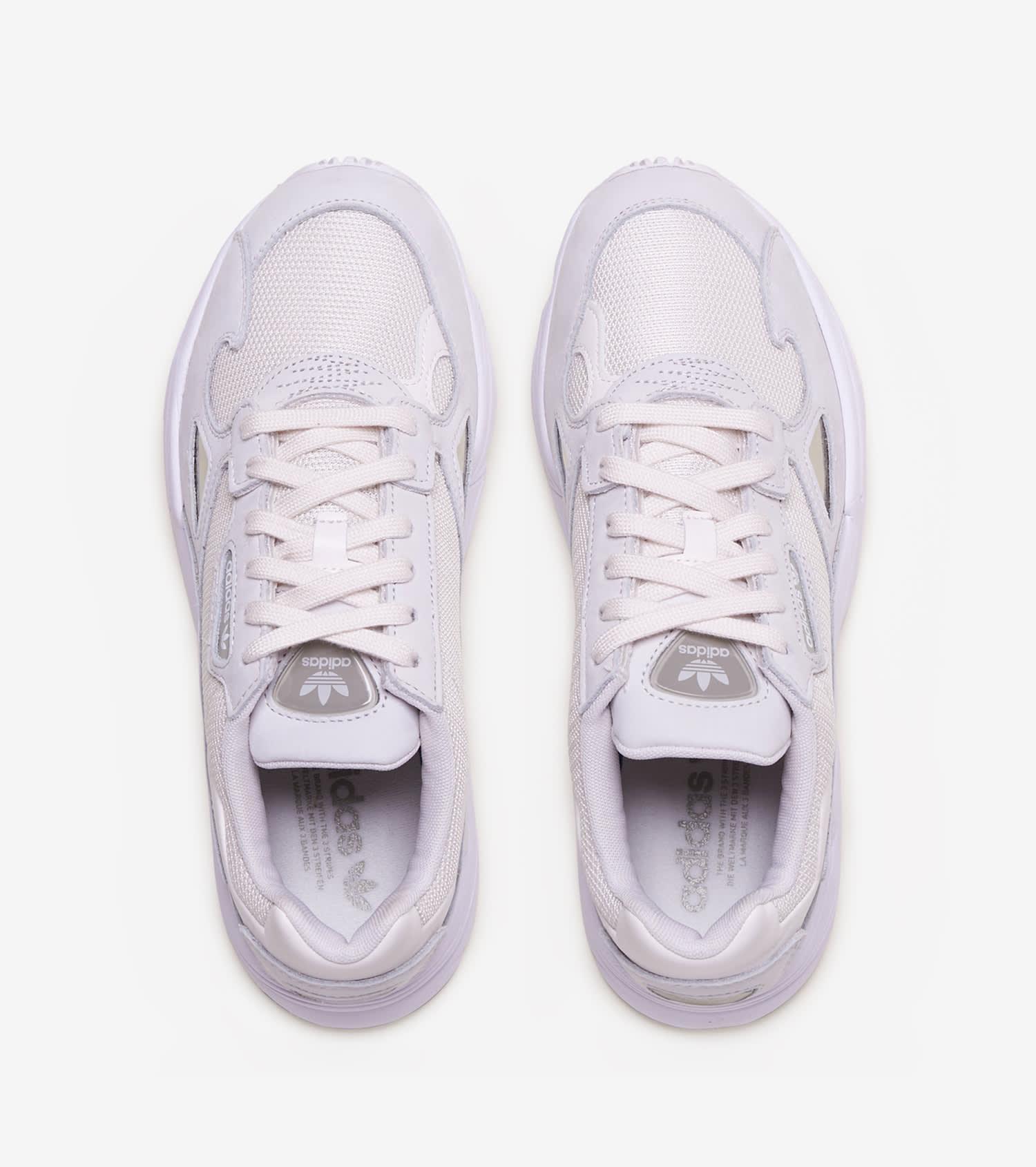 Womens Adidas Originals Falcon Kylie Shoe In Cloud White Grey