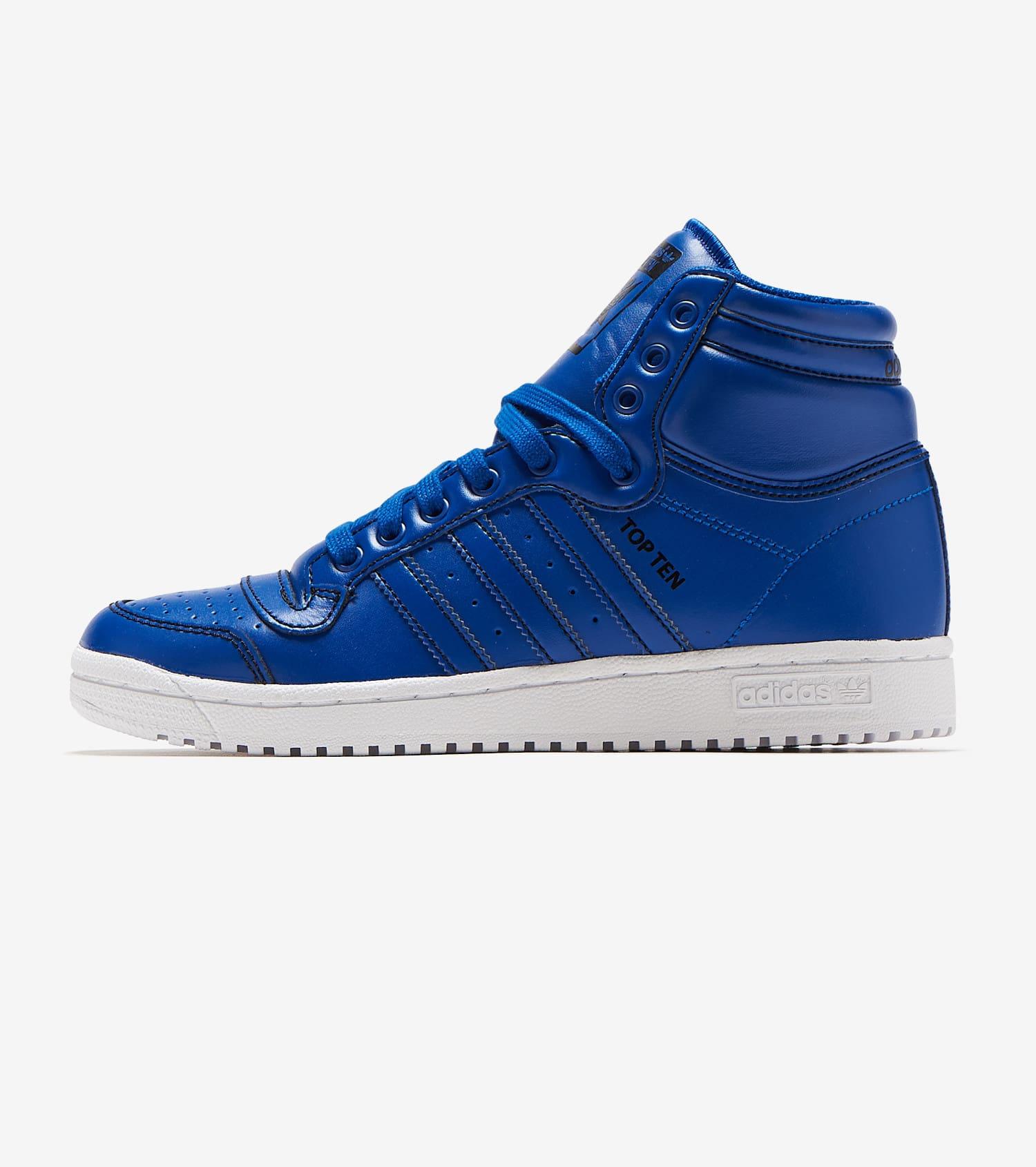 adidas top ten Blue Boutique officielle Soldes Livraison