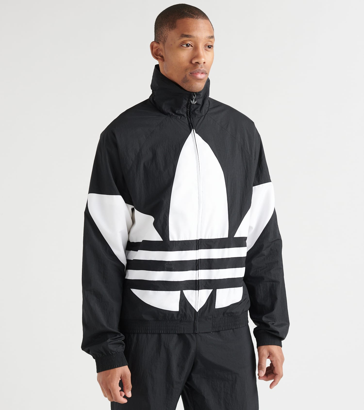 adidas windbreaker track jacket