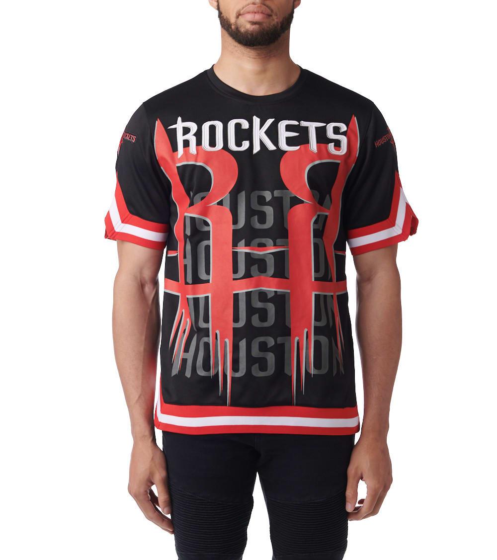 uk availability 6e743 b908c Houston Rockets Icon Shooter Jersey