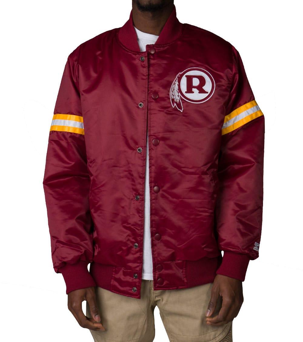purchase cheap cdd77 1b514 NFL REDSKINS SATIN JACKET