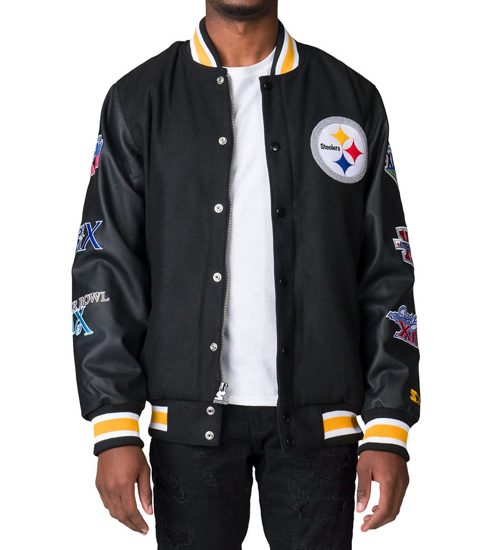 premium selection 19ccb 8d593 Steelers Championship Wool Jacket