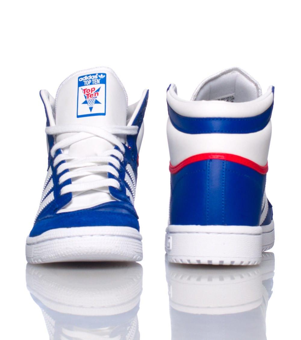 Adidas TOP TEN SNEAKER (Royal) M25306 Jimmy Jazz    Adidas TOP TEN SNEAKER (Royal) M25306   title=          Jimmy Jazz