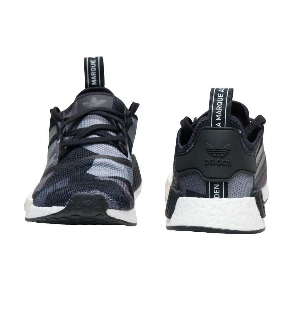 Verkauf Adidas NMD R1 Schwarz Camo S79163 Schuhe Preis www