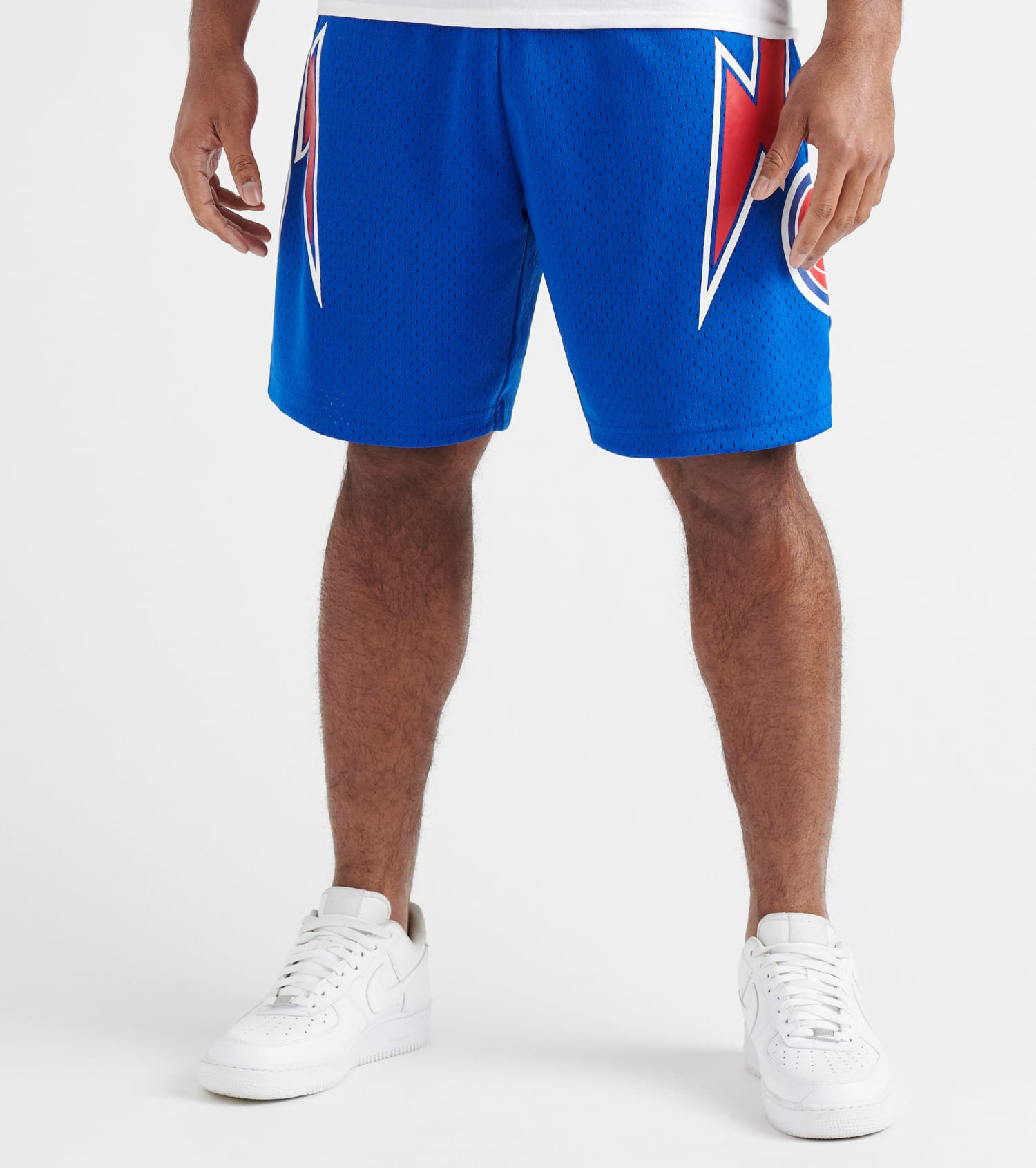 brand new 14f0b 76a07 Detroit Pistons Swingman Shorts