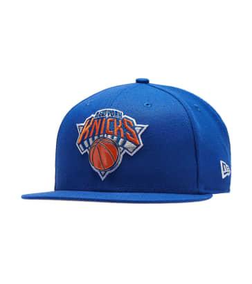 b82b6b0e068 New Era New York Knicks Metal   Thread Hat