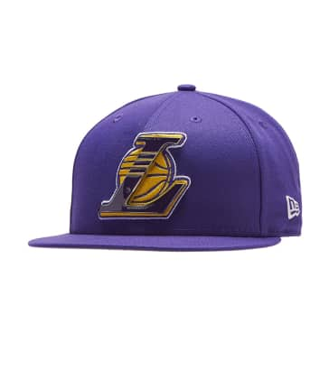 New Era Los Angeles Lakers Metal   Thread Hat c79779eea847