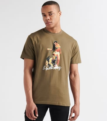 c0b318a8c4 Hustle Gang Dog Walker Tee