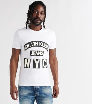 28d1951a415 Calvin Klein Calvin NYC Logo Tee