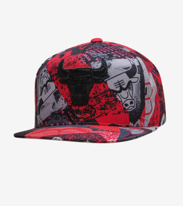 1be3d46f2cdf76 Mitchell and Ness Chicago Bulls Paysage Hat