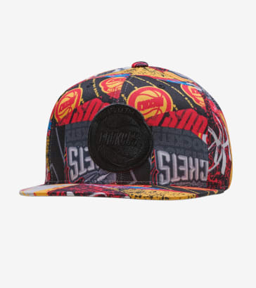7712eefe104 Mitchell and Ness Houston Rockets Paysage Hat