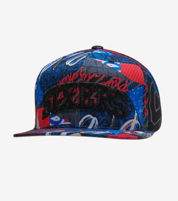 Mitchell and Ness 76ers Paysage Hat 21eb2c05a64c