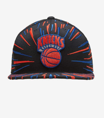 61900b81485 Mitchell and Ness New York Knicks Nucleo Snapback