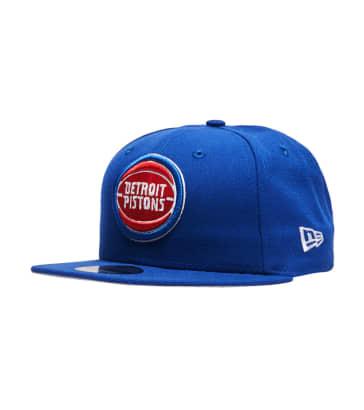 ecbcb3e3f41e New Era Detroit Piston Snapback Hat