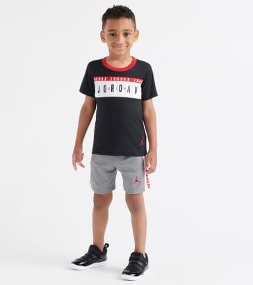 dae4da0a3e5 Jordan Logo Taped Short and Tee Set