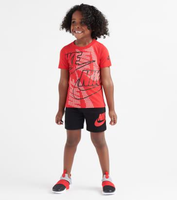 c5a191423183 Nike Futura T-Shirt   Shorts Set