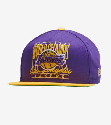1b098efb1e5 New Era Los Angeles Lakers 12x Champ Hat