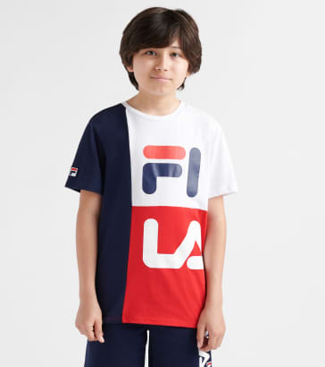 51573bff13c9 FILA Stacked Colorblock Tee