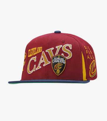 Mitchell and Ness Cleveland Cavaliers Snapback 5f3051efa68e
