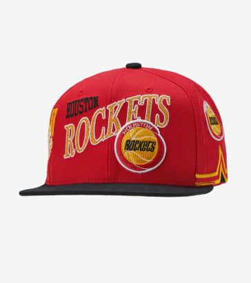 a874db61354 Mitchell and Ness Houston Rockets Snapback