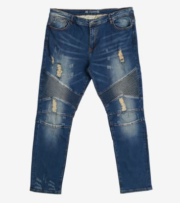 9092f7c54998 Crysp Skywalker Biker Jeans