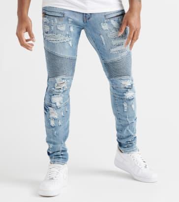 a4e1402ab11 Decibel Shredded Denim Jeans