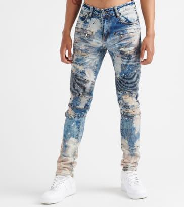 281c1143 Embellish Schultz Biker Denim Jeans