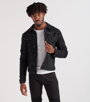 Heritage Denim Jacket With Velcro Tape