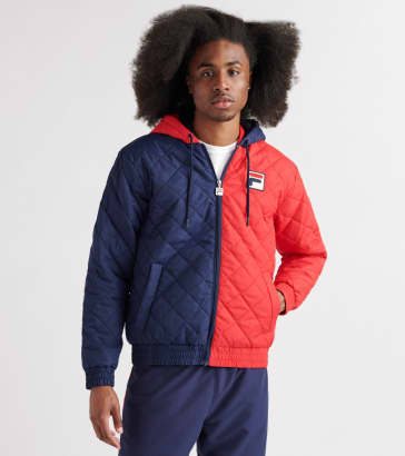 81c76d6a33a6 FILA Sawyer Quilted Jacket