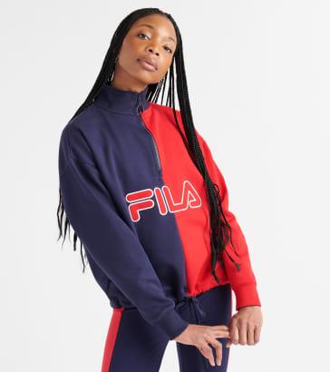 157df5d2387be FILA Nayara Quarter Zip Sweatshirt