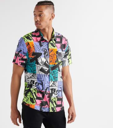 3030324be5f Decibel Neon Woven Shirt