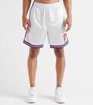 992db855edd346 Mitchell and Ness New York Knicks Platinum Swingman Shorts