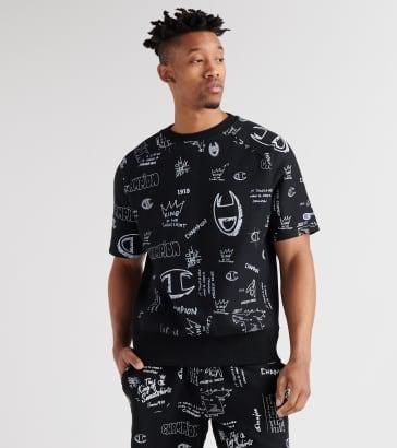 32439d0f Champion Reverse Weave All-Over Print Sweatshirt