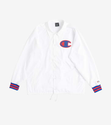 0f618b76c7 Champion Satin Coaches Ribbed Cuff Jacket