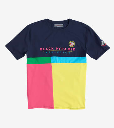 1ebe4b3d060 Black Pyramid Athletic Color Tee
