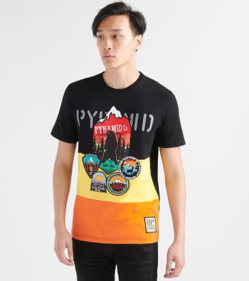 Uqiangy Fashion Mens Cotton Pocket Long Sleeve Slim Fit Needle Show Casual Round Shirts