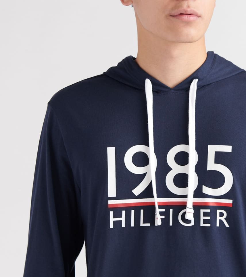 9ccb995f Tommy Hilfiger 1985 Pullover Hoodie (Navy) - 09T3432-410 | Jimmy Jazz