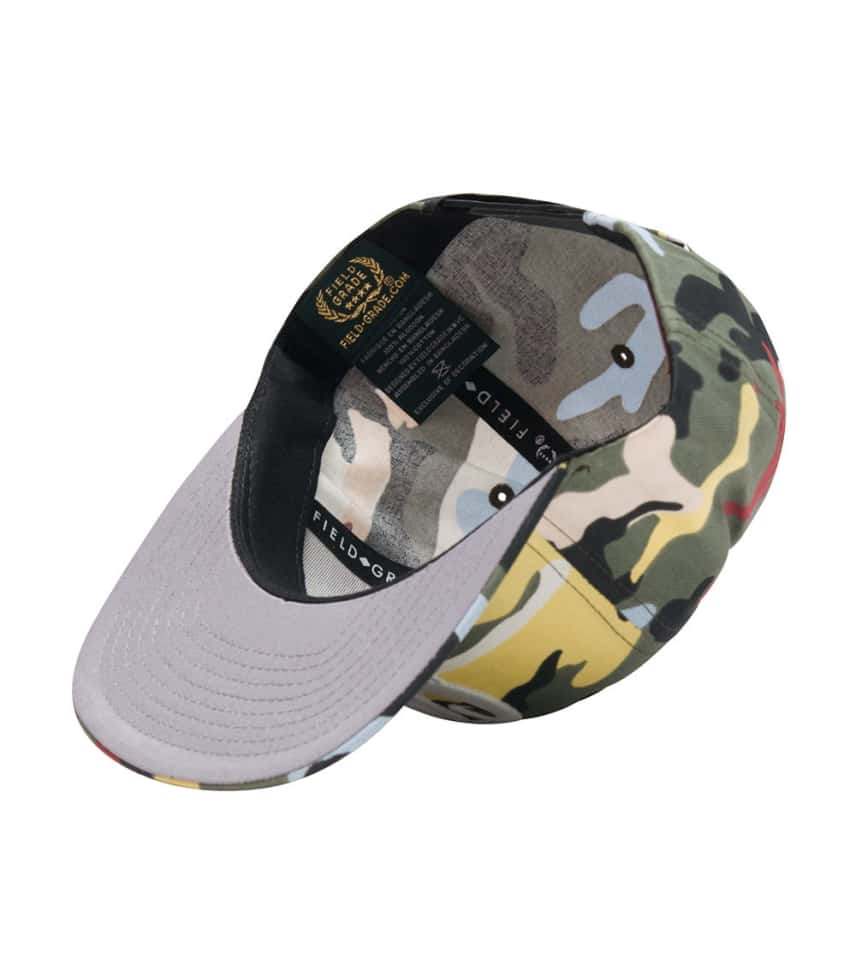 880290e2250 Field Grade MELTING OG SNAPBACK HAT (Multi-color) - 1000560